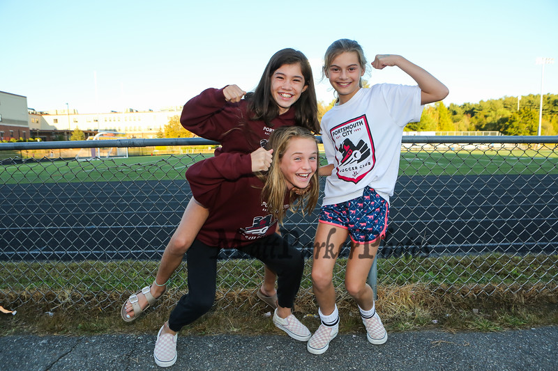 Clippers fans, Portsmouth Clippers Football vs the Red Raiders of Spaulding High School on Friday Night 9-27-2019 @ PHS.  [Matt Parker/Seacoastonline]