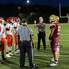 Coin toss, Portsmouth Clippers Football vs the Red Raiders of Spaulding High School on Friday Night 9-27-2019 @ PHS.  [Matt Parker/Seacoastonline]