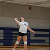 Winnacunnet Warriors JV Girls Volleyball vs the Green Wave of Dover High School on Wednesday 10-2-2019 @ WHS.  Matt Parker Photos