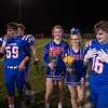 Winnacunnet Warriors Football Senior Night game vs the Black Birds of Keene High School on Friday 10-25-2019 @ WHS.  WHS-0, KHS-27.  Matt Parker Photos
