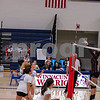Winnacunnet Girls Volleyball game on senior night vs the Clippers of Portsmouth High School on Friday 10-25-2019 @ WHS.  Tim Patenaude Photos