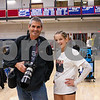 Matt Parker, Claire Simmons, Winnacunnet Girls Volleyball game on senior night vs the Clippers of Portsmouth High School on Friday 10-25-2019 @ WHS.  Tim Patenaude Photos
