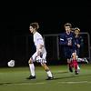 Exeter Blue Hawk Boys Soccer game vs the Warriors of Winnacunnet High School on Friday Night 10-4-2019 @ EHS.  Matt Parker Photos