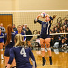 Exeter Blue Hawk Girls Volleyball game vs the Warriors of Winnacunnet High School on Friday Night 10-4-2019 @ EHS.  EHS-3, WHS-2.  Matt Parker Photos