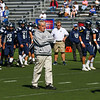 Coach Bill Ball, Exeter Blue Hawks Football game vs the Warriors of Winnacunnt High School on Saturday 9-5-2019 @ EHS.  Matt Parker Photos