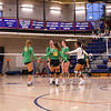 Winnacunnet Warriors JV Girls Volleyball vs the Cardinals of Bishop Guertin High School on Monday 10-7-2019 @ WHS.  Matt Parker Photos