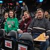 """Brian """"Pizza-Man"""" McCain and family, Boston Celtics NBA Basketball vs the Miami Heat on Wednesday 12-4-2019 @ The Boston Garden, Boston MA.  Celtics-112, Heat-93.  Matt Parker Photos"""