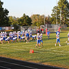 Spaulding Red Raiders Football vs the Warriors of Winnacunnet High School on Friday Night 9-20-2019 @ SHS, Rochester NH.  Matt Parker Photos