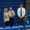 Coaches Heidi Hand, Tom Hayward and Rob Gosselin, Winnacunnet Warriors Girls Varsity Basketball game vs the Crusaders of Memorial High School on Friday 1-10-2020 @ WHS.  WHS-14, MHS-50.  Matt Parker Photos