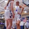 Warm ups, Winnacunnet Warriors Girls Varsity Basketball game vs the Crusaders of Memorial High School on Friday 1-10-2020 @ WHS.  WHS-14, MHS-50.  Matt Parker Photos