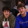 WHS students, Winnacunnet Warriors Boys Basketball game vs the Astros of Pinkerton Academy on Tuesday 1-14-2020 @ WHS.  WHS-53, PA-23.  Matt Parker Photos