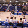 Introduction of the teams, Winnacunnet Warriors Boys Basketball game vs the Astros of Pinkerton Academy on Tuesday 1-14-2020 @ WHS.  WHS-53, PA-23.  Matt Parker Photos
