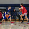 Winnacunnet Warriors Varsity Coed Unified Basketball game between the Blue Devils of Epping and Mules of Newmarket High School in Thursday's Winnacunnet inaugural Home Opener on 1-16-2020 @ WHS. WHS-13, EHS/NHS-29.  Matt Parker Photos