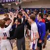Winnacunnet Warriors Boys Basketball game vs the Little Green of Central High School on Friday 1-16-2020 @ WHS. WHS-66, CHS-43.  Matt Parker Photos
