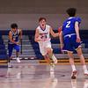 Winnacunnet Warriors JV Boys Basketball Home Opener vs the Tomahawks of Merrimack High School on Friday 1-3-2020 @ WHS.  Matt Parker Photos