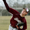 Abington's Erik Walther pitches against Plymouth Whitemarsh.