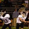 Abington quarterback Dylan Collins hurls a pass.