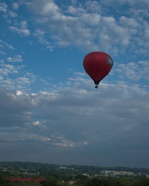"""Fireball"" Gregory Sturge - Tulsa, OK<br /> 2012 Gatesway Balloon Festival<br /> Claremore, OK"