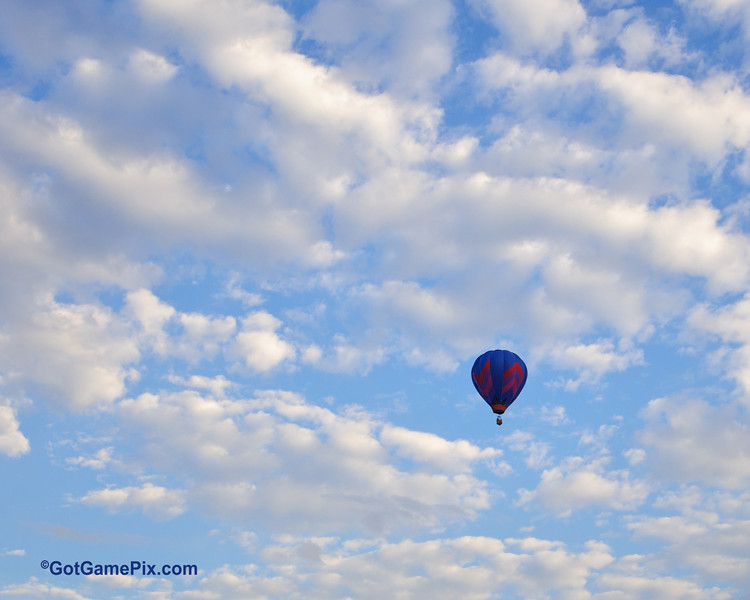 """Spirit in the Sky"" Michael Scott - Oklahoma City, OK<br /> 2012 Gatesway Balloon Festival<br /> Claremore, OK"