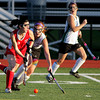 FH_Wood Fleet 7303_Archishop Wood's Lauren Bauer reaches in to block Fleetwood's Alyssa Delp.     Bob Raines 11.08.11