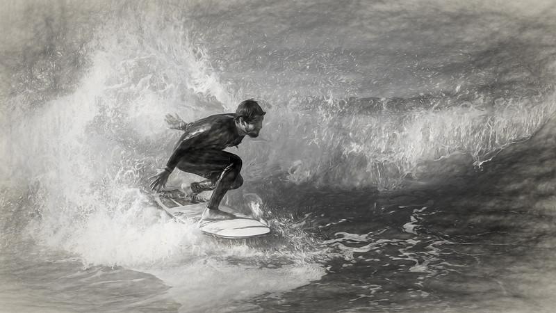 Surfing Malibu, 08/30/2019