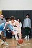 KELLY FLETCHER, REFORMER CORRESPONDENT -- The Colonels' varsity boys basketball team went head to head with the South Burlington Wolves Friday night and prevailed in overtime on their home court, 90-87.