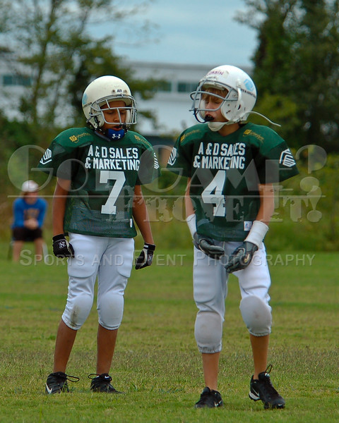 Kyle Pate (7) & Corbin Kirkland (4) - Root Chargers<br /> 9/24/2006