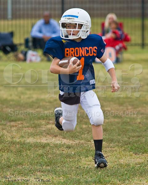 Beau Stuckey - Vandergriff Broncos<br /> 09/17/2011