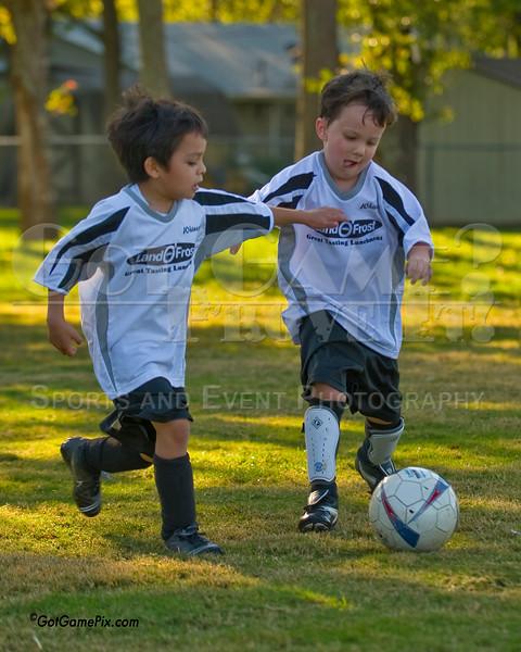 Salvador ? & Alexander Hemphill  - Whitecaps<br /> Fayetteville Youth Soccer<br /> 10/8/11