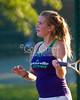 Emily Hokett - Fayetteville Bulldogs <br /> Rogers High v. FHS 8/22/2011