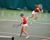 Catherine Parenteau & Kate Lukomskaya<br /> Razorback Tennis<br /> 2/5/12