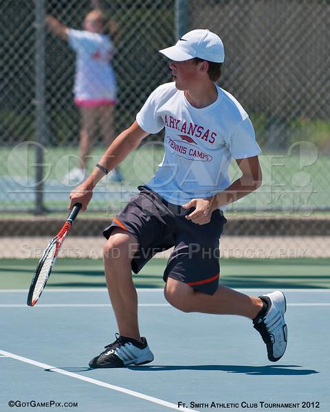 Hayden Pennington - Springdale, AR<br /> Ft. Smith Athletic Club Juniors Tourney<br /> June 2012