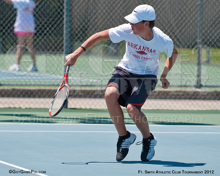 Hayden Pennington - Springdale, AR<br /> Ft. Smith Athletic Club Juniors Tourney<br /> June 2012