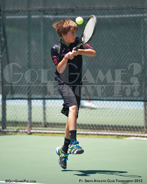 Mason Lane - Rogers, AR<br /> Ft. Smith Athletic Club Juniors Tourney<br /> June 2012