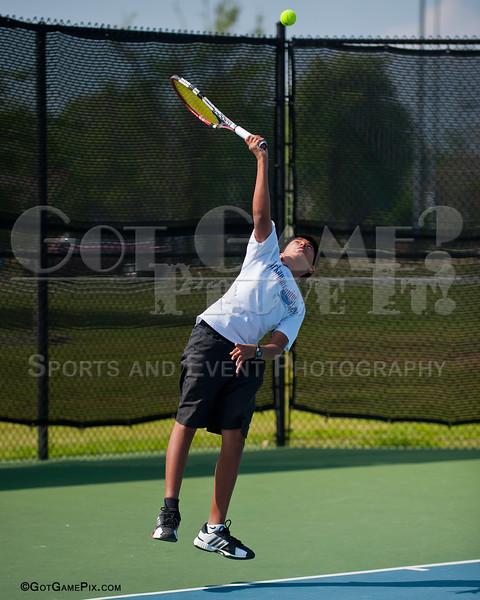 Richie Joshuva<br /> Ozark Tennis Academy Tournament<br /> 3/2012