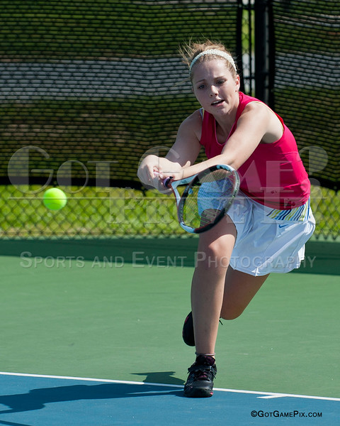 Kendra Dinsmore<br /> Ozark Tennis Academy Tournament<br /> 3/2012