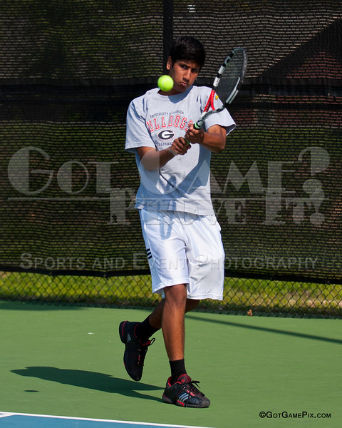 Sameer Kamath<br /> Ozark Tennis Academy Tournament<br /> 3/2012