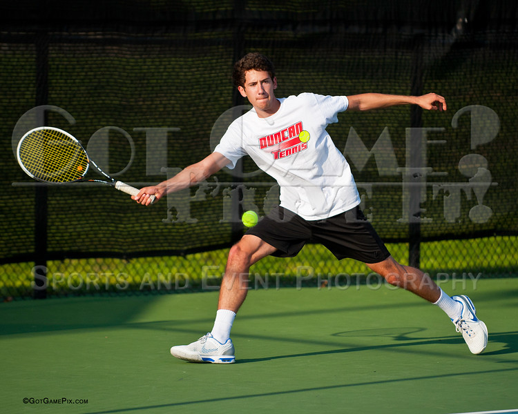 Nathan Street<br /> Ozark Tennis Academy Tournament<br /> 3/2012