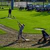 KRISTOPHER RADDER - BRATTLEBORO REFORMER<br /> Brattleboro takes on Mount Anthony Union during a baseball game at Brattleboro Union High School on Wednesday, May 9, 2018.