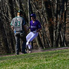 KRISTOPHER RADDER — BRATTLEBORO REFORMER<br /> Leland & Gray beats Bellows Falls 4-2 during a baseball game at Bellows Falls Union High School on Wednesday, April 17, 2019.