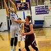 KRISTOPHER RADDER - BRATTLEBORO REFORMER<br /> Bellows Falls' Ryan Kelly gets the offensive rebound during a boys' varsity basketball game at Bellows Falls Union High School on Monday, Jan. 16, 2017.