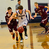 KRISTOPHER RADDER - BRATTLEBORO REFORMER<br /> Bellow Falls beats Black River 49-38 during a boys' varsity basketball game at Bellows Falls Union High School on Monday, Jan. 16, 2017.