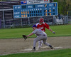 Brattleboro played against Rutland during Thursday's baseball game at Brattleboro Union High School. The game was suspended in the third inning with Rutland leading 2-0. Kristopher Radder / Reformer Staff