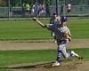 Brattleboro's Leif Bigelow pitches against Rutland during Thursday's baseball game at Brattleboro Union High School. Kristopher Radder / Reformer Staff