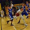 KRISTOPHER RADDER - BRATTLEBORO REFORMER<br /> Brattleboro boys' variety team hosted Hinsdale during a scrimmage on Tuesday, Dec. 5, 2017.