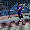 KRISTOPHER RADDER - BRATTLEBORO REFORMER<br /> Brattleboro's boys' tennis team hosted Bellows Falls on Tuesday, April 18, 2017.
