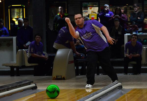 Brattleboro Union High School's bowling team -020417