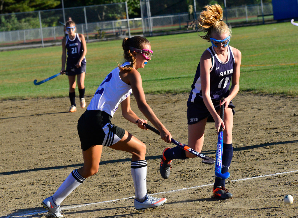 . Brattleboro would beat Fair Haven 5-1 during a field hockey game on Thursday, Oct. 6, 2016. Kristopher Radder / Reformer Staff