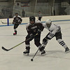 KRISTOPHER RADDER - BRATTLEBORO REFORMER<br /> Brattleboro boys' take on Lyndon during a hockey game at Living Memorial Park on Wednesday, Jan. 24, 2018.