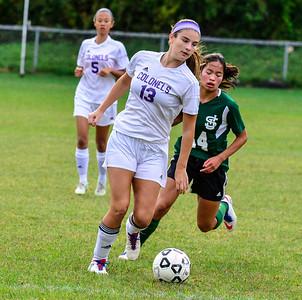 Brattleboro girls soccer - 091916